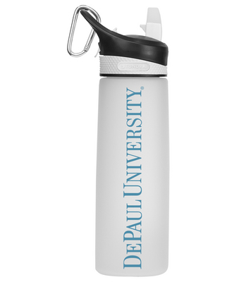 Frosted Water Bottle