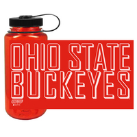 Ohio State Buckeyes Nordic Company Widemouth Nalgene Bottle