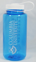 Columbia University Nordic Company Widemouth Nalgene Bottle