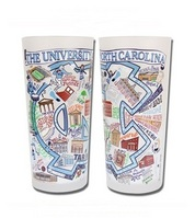 Collegiate 15 oz Glass