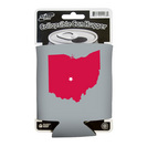 Ohio State Buckeyes Collapsible Can Hugger