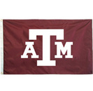 Texas A&M Aggies Appliqued Two Sided Flag