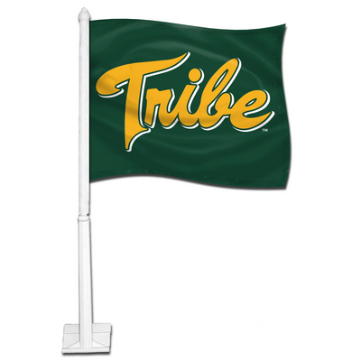 William and Mary Car Flag with Plastic Rod