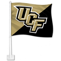 UCF Knights Car Flag with Plastic Rod