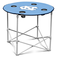 University of North Carolina Chapel Hill Round Folding Table