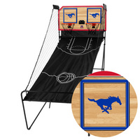 Southern Methodist University Mustangs SMU Classic Court Double Shootout Basketball Game
