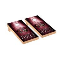 Temple University Owls Regulation Cornhole Game Set Museum Version
