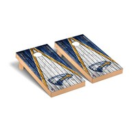 Emory Eagles Regulation Cornhole Game Set Triangle Weathered Version