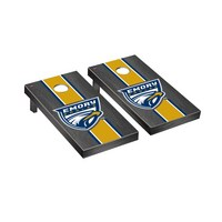 Emory Eagles Regulation Cornhole Game Set Onyx Stained Stripe Version