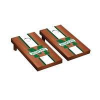 Manhattan Jaspers Regulation Cornhole Game Set Rosewood Stained Stripe Version