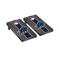 Howard Bison Regulation Cornhole Game Set Onyx Stained Stripe Version
