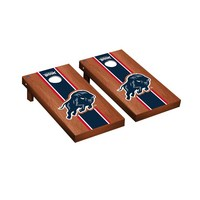 Howard Bison Regulation Cornhole Game Set Rosewood Stained Stripe Version