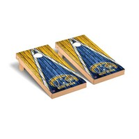 Kent State Golden Flashes Regulation Cornhole Game Set Triangle Weathered Version