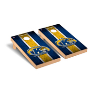 Kent State Golden Flashes Regulation Cornhole Game Set Vintage Version