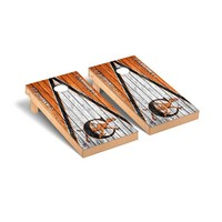 Campbell Fighting Camels Regulation Cornhole Game Set Triangle Weathered Version