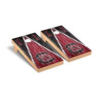 South Carolina Gamecocks USC Regulation Cornhole Game Set Triangle Weathered Version