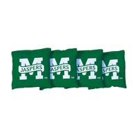 Manhattan Jaspers Green Regulation All Weather Cornhole Bags