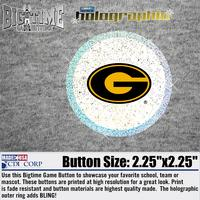 2.25 in. Metalized Button