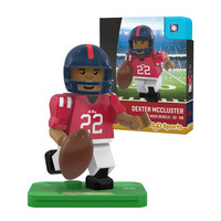 COLLEGE FOOTBALL CAMPUS LEGENDS MINIFIGURES Dexter McCluster