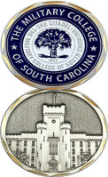 Challenge Coin With School Seal