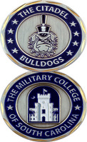 Challenge Coin With School Mascot