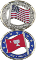 Challenge Coin Proud Mom