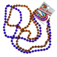 Clemson Tigers School Spirit Beads