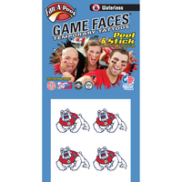 Waterless Game Face Tattoos