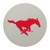 SMU Mustangs Laser Magic Ping Pong Balls