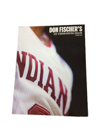 Indiana Hoosiers Don Fischers Mens Basketball Media Guide