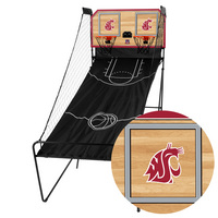 Washington State Cougars Classic Court Double Shootout Basketball Game