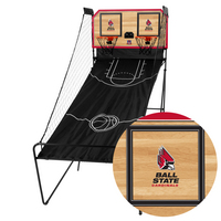 Ball State Cardinals Classic Court Double Shootout Basketball Game