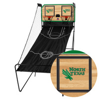 North Texas Mean Green Classic Court Double Shootout Basketball Game