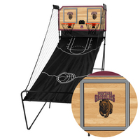 Montana Grizzlies Classic Court Double Shootout Basketball Game