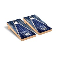 Marietta Pioneers Regulation Cornhole Game Set Triangle Weathered Version