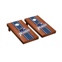Marietta Pioneers Regulation Cornhole Game Set Rosewood Stained Stripe Version
