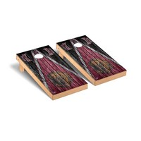University of Montana Grizzlies Regulation Cornhole Game Set Weathered Triangle Version