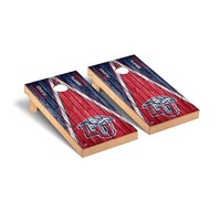 Liberty Flames Regulation Cornhole Game Set Triangle Weathered Version