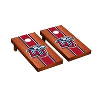 Liberty Flames Regulation Cornhole Game Set Rosewood Stained Stripe Version