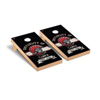 University of Tampa Spartans Regulation Cornhole Game Set Banner Vintage Wooden