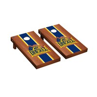 Drexel Dragons Regulation Cornhole Game Set Rosewood Stained Stripe Version