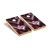 Texas A&M University Aggies Regulation Cornhole Board OHT Herringbone Version