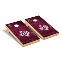Texas A&M University Aggies Regulation Cornhole Board OHT Rivet Version