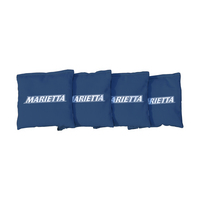 Marietta Pioneers Light Blue Regulation Corn Filled Cornhole Bags