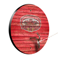 Jacksonville State University JSU Gamecocks Weathered Design Hook and Ring Game