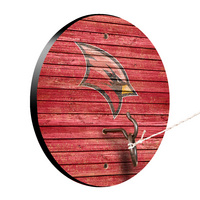Saginaw Valley State University Cardinals Weathered Design Hook and Ring Game
