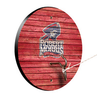 Robert Morris University Colonials Weathered Design Hook and Ring Game