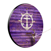 Portland Pilots Weathered Design Hook and Ring Game