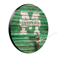 Manhattan College Jaspers Weathered Design Hook and Ring Game
