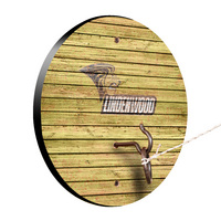 Lindenwood University Lions Weathered Design Hook and Ring Game